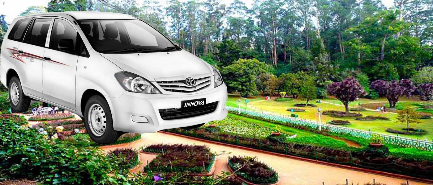 Bangalore To Ooty Car Rental